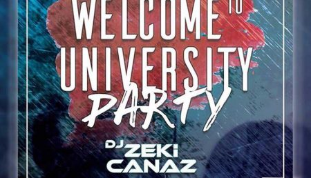 Welcome To University Party