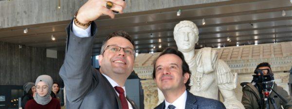 Troya Müzesi'nde Selfie Günü Heyecanı