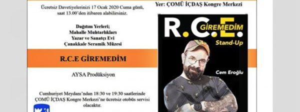 R.C.E. Giremedim Stand-up