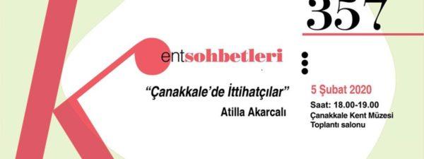 """""""Çanakkale'de İttihatçılar"""""""