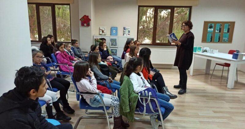 Çocuk Kültür Evi'nde Söyleşi