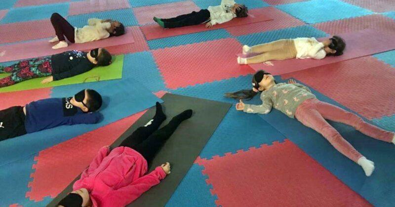Çanakkale Belediyesi'nden Çocuk Yogası