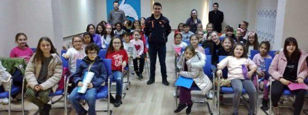 Çocuk Kültür Evi'nde Temel Afet Bilinci Eğitimi