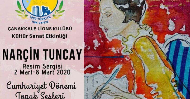 Narçin Tuncay'dan Cumhuriyet Sergisi