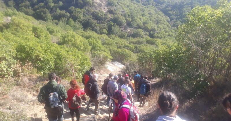 Turist Rehberleri Arıburnu Cephesini Adımladı