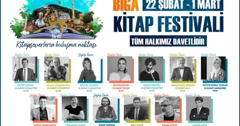 Biga'da Kitap Festivali