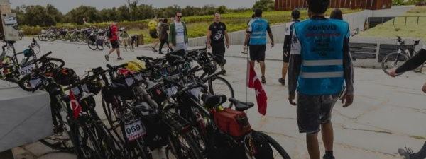 """ÇABİP: """"Cumhurbaşkanlığı Bisiklet Turu Troya'dan Geçmeli"""""""