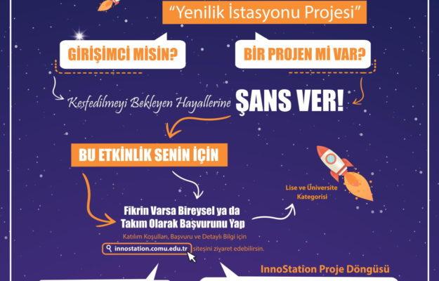 InnoStation Proje ve Girişimcilik Yarışması Başladı