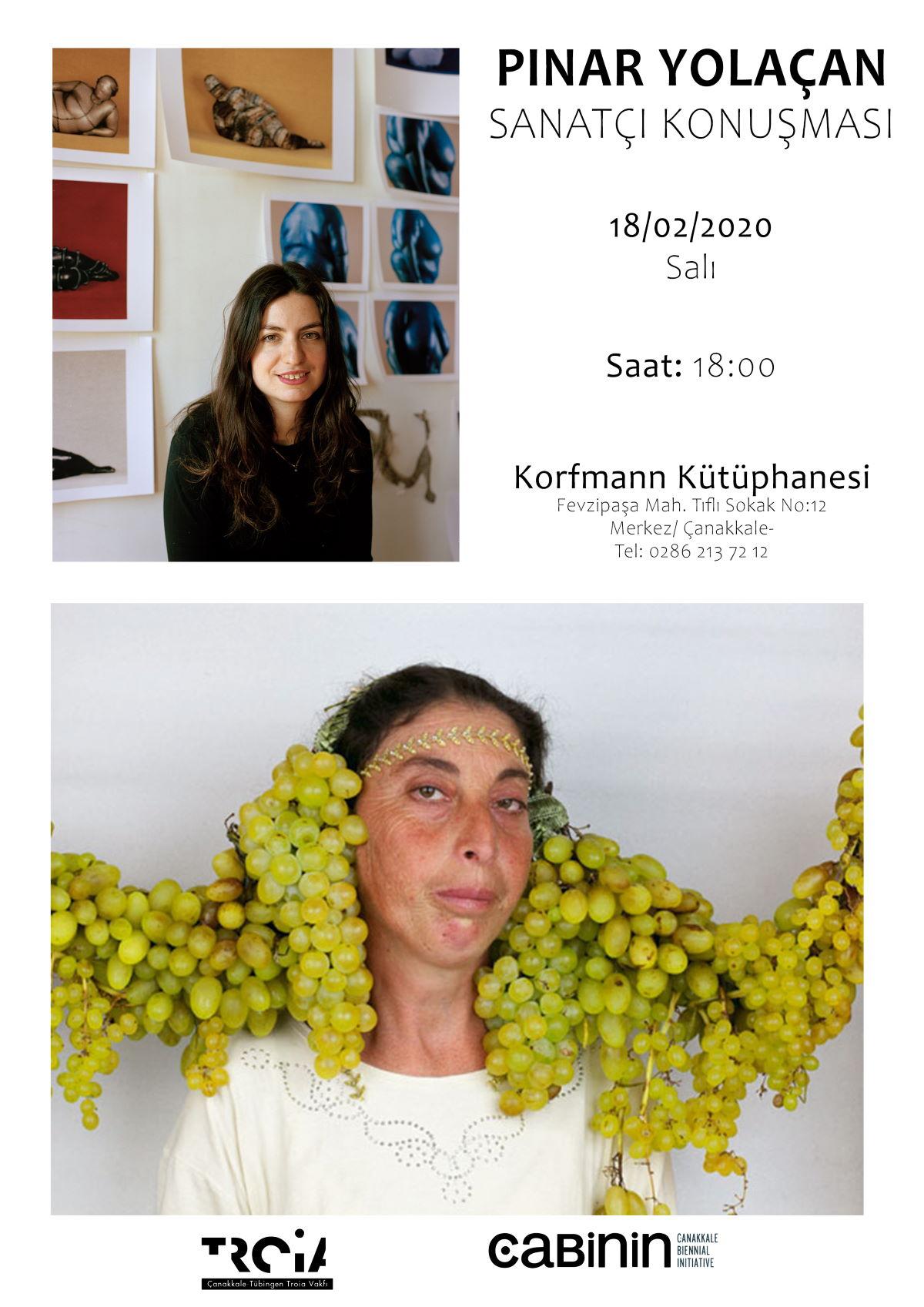 Pınar Yolaçan Sanatçı Konuşmasıyla Korfmann'da