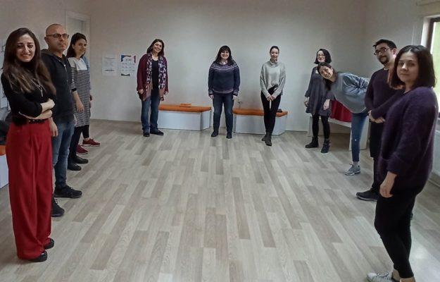 Çocuk Kültür Evi'nde Drama Eğitici Eğitimi Başladı