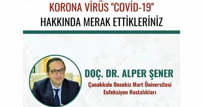 Koronavirüsü Konferansı Düzenlenecek