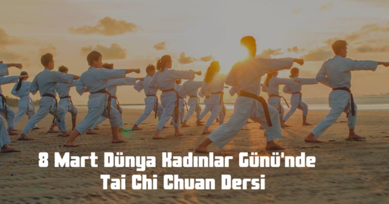 Tai Chi Chuan Dersi Verilecek