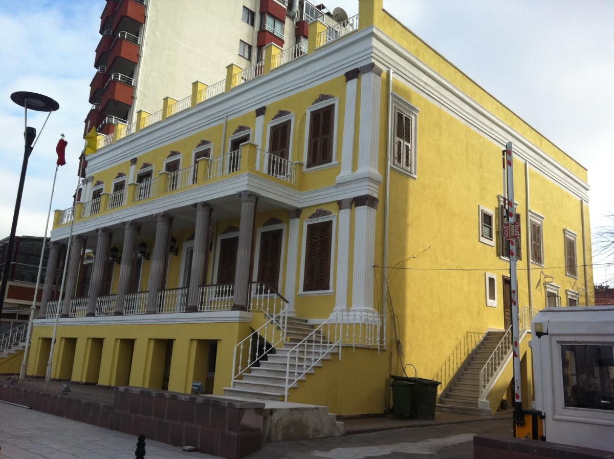 Sahil Sıhhiye binası