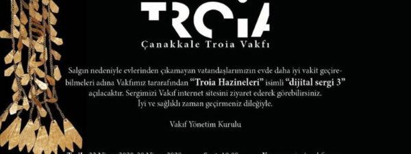 """Troia Vakfından Yeni Dijital Sergi: """"Troia Hazineleri"""""""