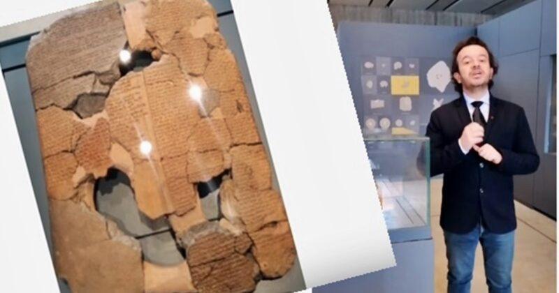 Kadeş Antlaşmasından Daha Eski Bir Antlaşma Troya Müzesi'nde