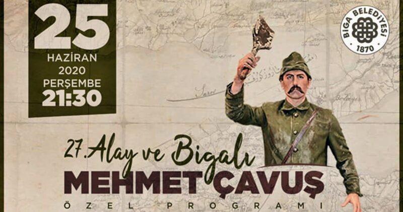 '27. Alay ve Bigalı Mehmet Çavuş' Özel Programı