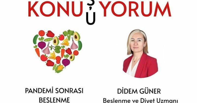 """""""COVİD-19 Salgınında Nasıl Beslenmeliyiz?"""""""