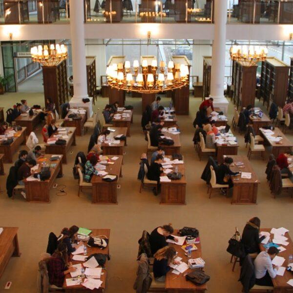 ÇOMÜ Kütüphanesi Kullanıma Açıldı