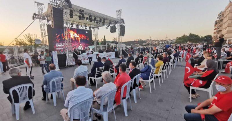 15 Temmuz Demokrasi ve Milli Birlik Günü Etkinlikler İle Kutlandı