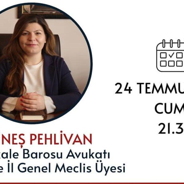 """Güneş Pehlivan ile """"Kadın Hakları ve İstanbul Sözleşmesi"""""""