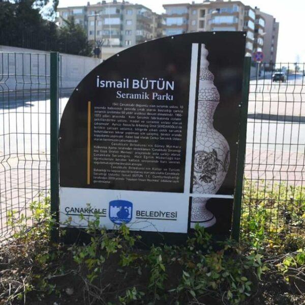 İsmail Usta'nın İsmi Parka Verildi