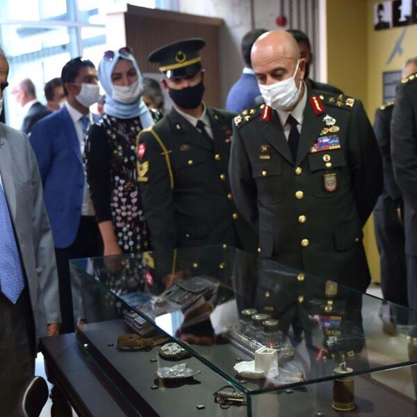 'Ben Binbaşı Ali Faik Bey Sergisi' Açıldı
