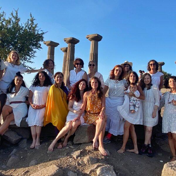 """Çanakkale'den Athenalar Geçti… """"Meğer Ne Çok Kadın Dostumuz Varmış Doğaya Hasret"""""""