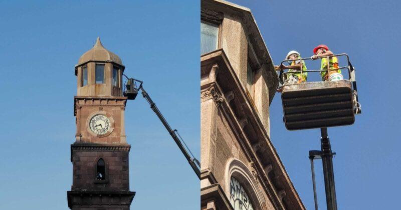 Saat Kulesi Onarımdan Geçti
