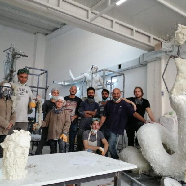 Devasa Heykeller Yapan Sanatçılar, Çanakkale'nin Gururu Oldular!