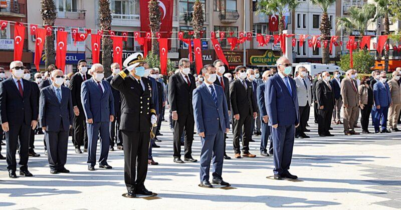 Çanakkale'de Cumhuriyet Bayramı Töreni Gerçekleştirildi