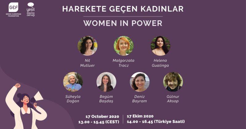 'Harekete Geçen Kadınlar' Konferansı 17 Ekim'de Gerçekleşiyor