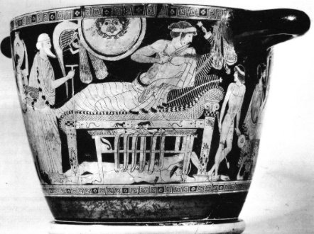 Priamosun Hektorun cenazesini almak için - 1