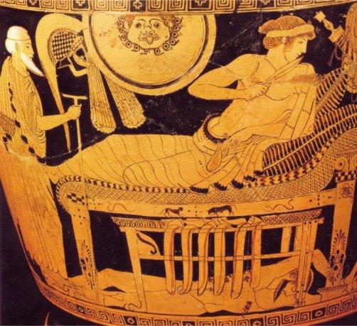 Priamosun Hektorun cenazesini almak için - 2
