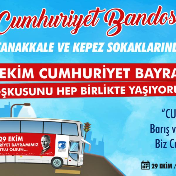 Cumhuriyet Bandosu 29 Ekim'de Sokaklarda…