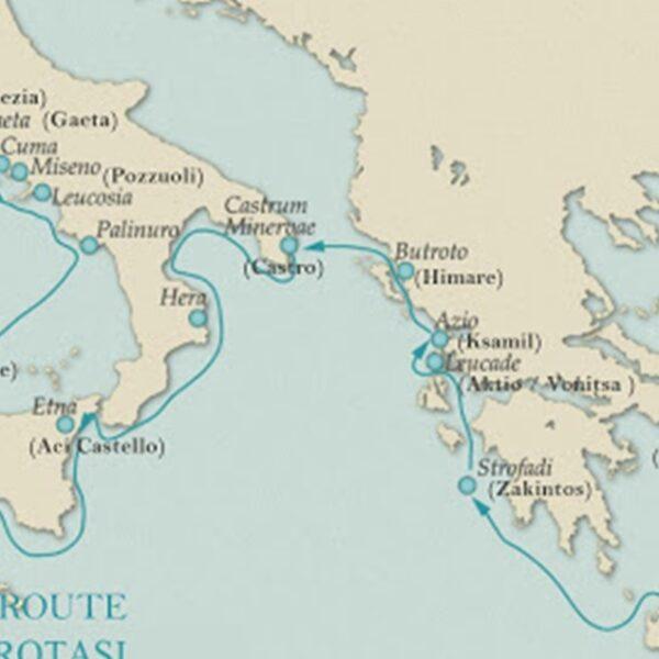 Aeneas Deniz Kültür Rotası Geliyor