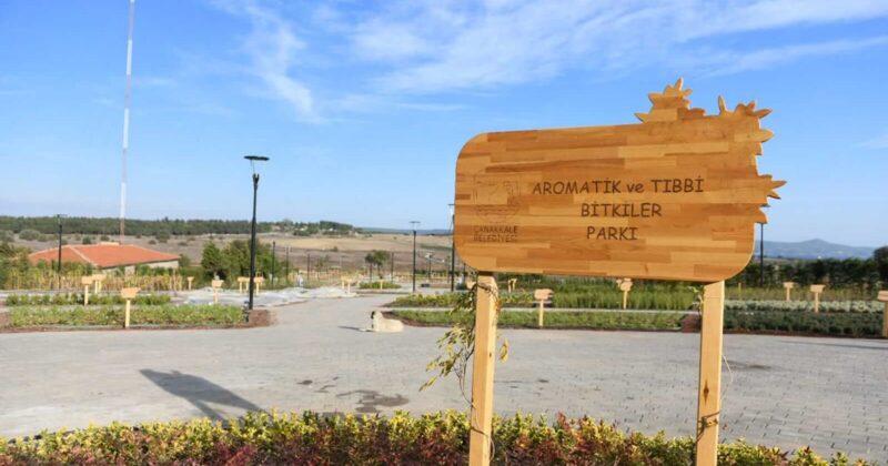 Aromatik ve Tıbbi Bitkiler Parkı Açılıyor…
