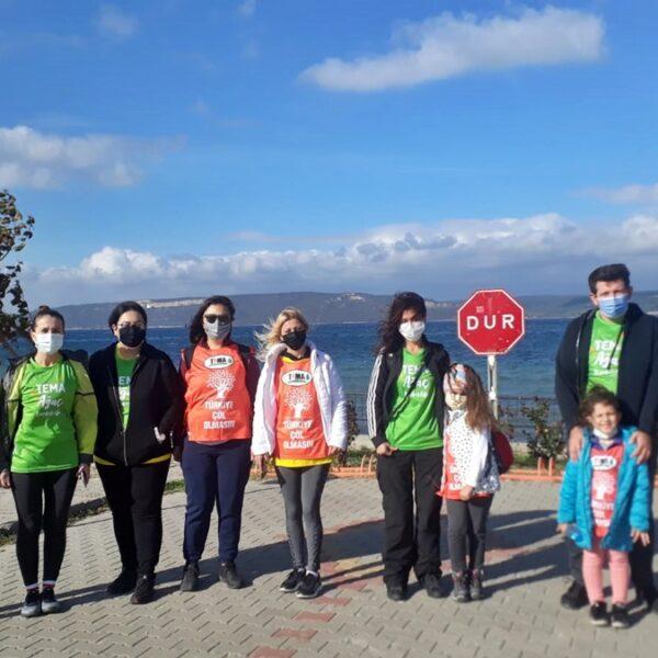 TEMA Vakfı Çanakkale, İstanbul Maratonu'na Katıldı