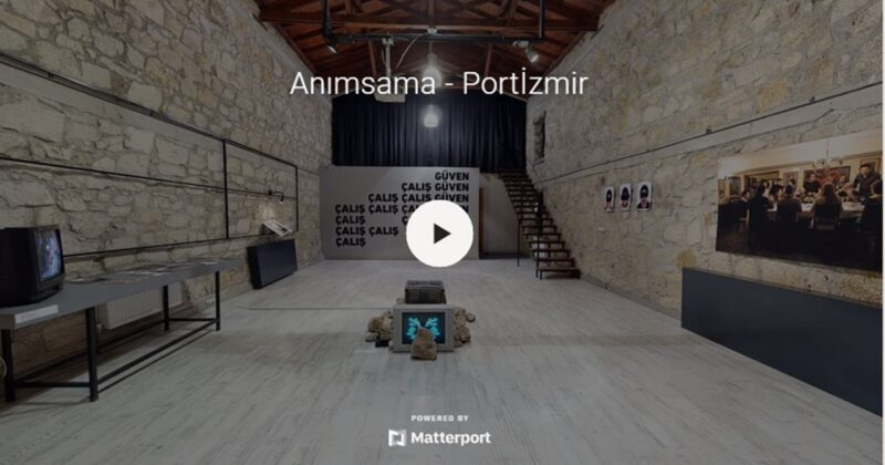 """Portİzmir – Çanakkale Bienali """"Anımsama"""" Sergileri Çevrimiçi Devam Ediyor"""