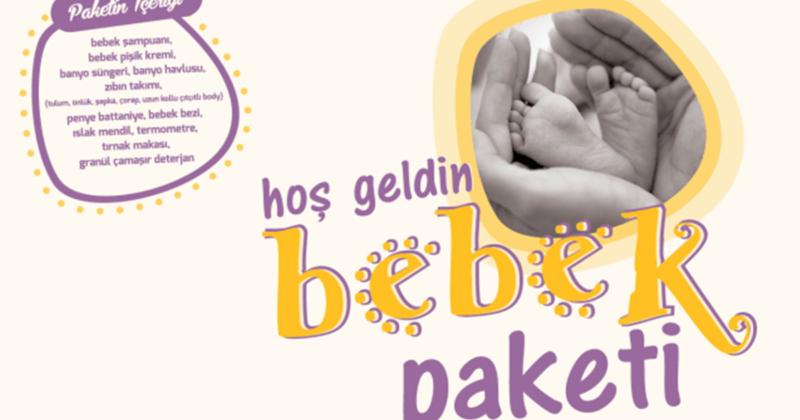 Hoş Geldin Bebek Paketi Projesi Devam Ediyor