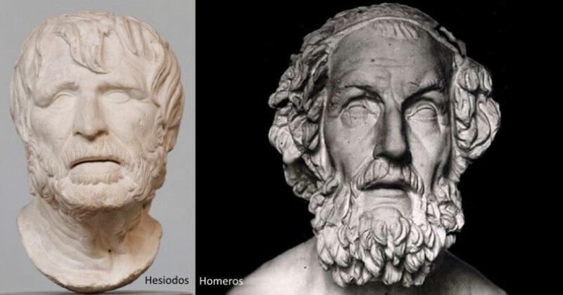 Bilginin Göçü: Homeros ve Hesiodos