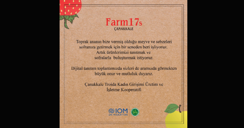 """""""Farm17s"""" Dijital Tanıtım Toplantısı 19 Şubat Cuma Günü Gerçekleşecek"""