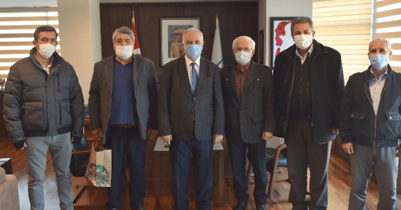Başkan Gökhan Kooperatif Başkanlarını Ağırladı