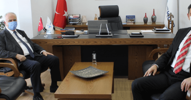 Başkan Gökhan'dan İŞKUR İl Müdürü Yavuz'a Ziyaret