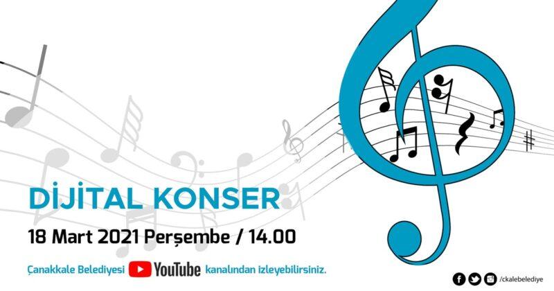 18 Mart Törenlerine Özel Dijital Konser