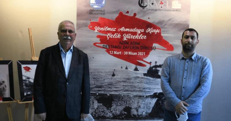 """""""Yenilmez Armadaya Karşı Çelik Yürekler"""" Sergisi Açıldı"""