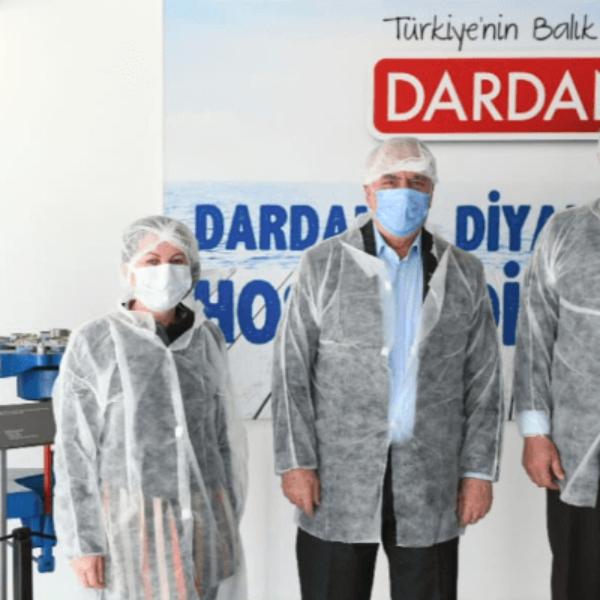 Başkan Gökhan'dan Dardanel'e Destek Ziyareti