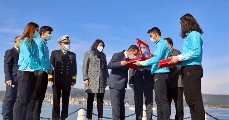 Çanakkale Deniz Zaferi'nin 106. Yıldönümü Törenleri Başladı