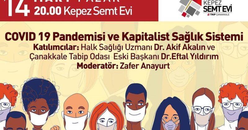 COVİD 19 Pandemisi ve Kapitalist Sağlık Sistemi
