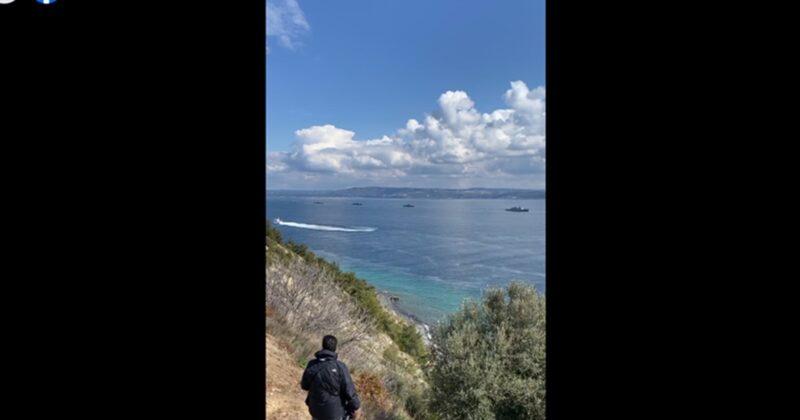CANLI- Çanakkale Deniz Zaferi Geçit Törenleri