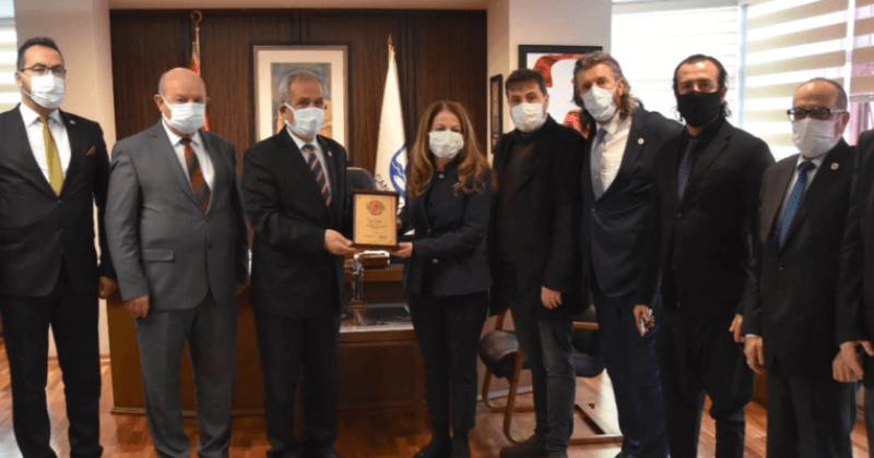 Türkiye Basın mensupları Federasyonundan Çanakkale Belediyesine Ziyaret